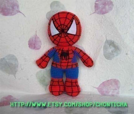 Deadpool Spiderman crochet pattern discount Set of 2 PDF | Etsy | 485x570