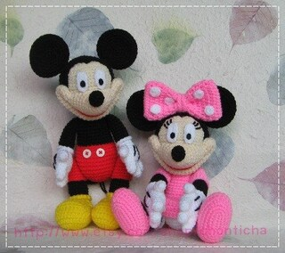MICKEY Mouse Disney Amigurumi Pattern Baby Easy DIY PDF | Etsy | 284x320