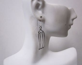 Bella's Square Cage Earrings