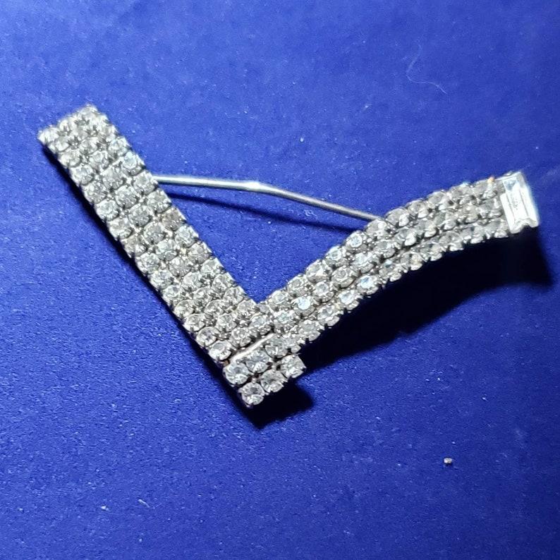 Very Very sparkly Vintage pin