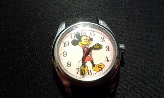 Mickey Mouse Disney Watch Swiss Movement  9575d1cb5ae