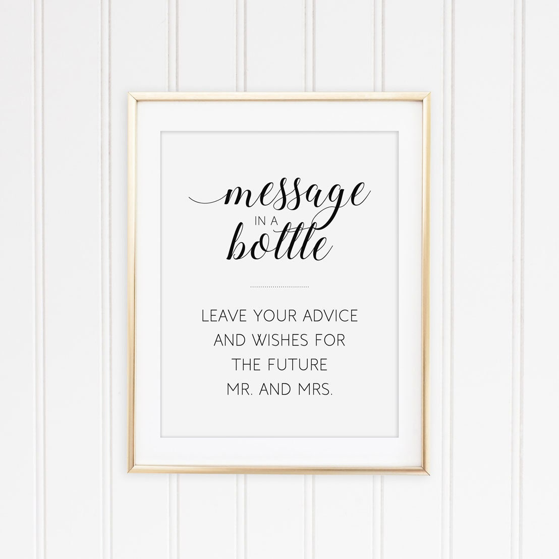 Message in a bottle, Guest book sign, Wedding shower, Wine bottle guest  book, Advice for bride and groom, Couples shower
