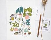 Plants indoor poster