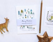 MERRY CHRISTMAS Cards set