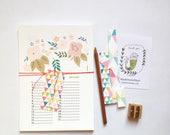 Floral Birthday calendar