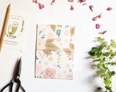 Floral patterns cards set