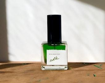 adk Adirondack all natural forest cologne / botanical evergreen perfume with balsam fir, cedar, pine, reindeer moss, cade