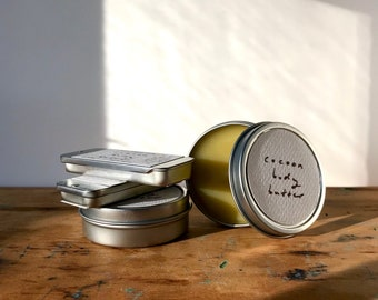 COCOON BODY BUTTER - palo santo, spices, and butternut squash in a warming, grounding organic body moisturizer (1/2 oz or 2 oz tin)