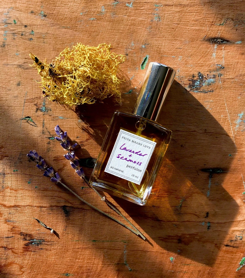 LAVENDER & SEAMOSS  an all-natural botanical perfume: image 0