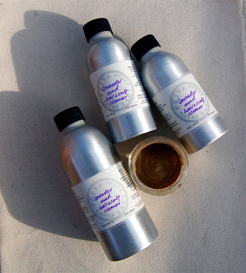Lavender Mud Hair and Scalp Cleanser  our rare radical image 0