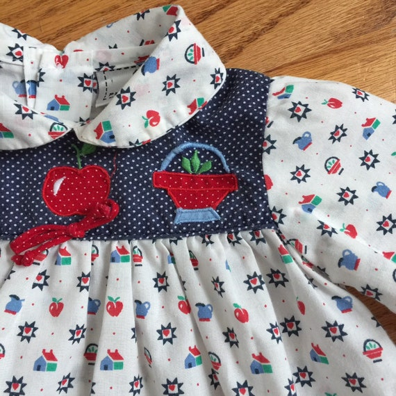 3f4a5b4f4 9-12M Baby Girls Top Vintage 1970s Baby Shirt Petit Jout | Etsy