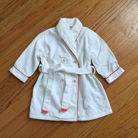 3-4T Vintage 1960s Childs Robe, Jack and Jill Togs