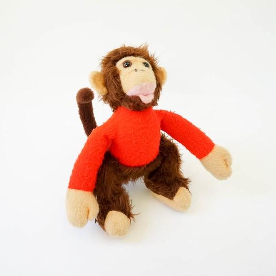 Girls Plush Faux Fur Animal Vest Monkey Size Small 5-8 Years
