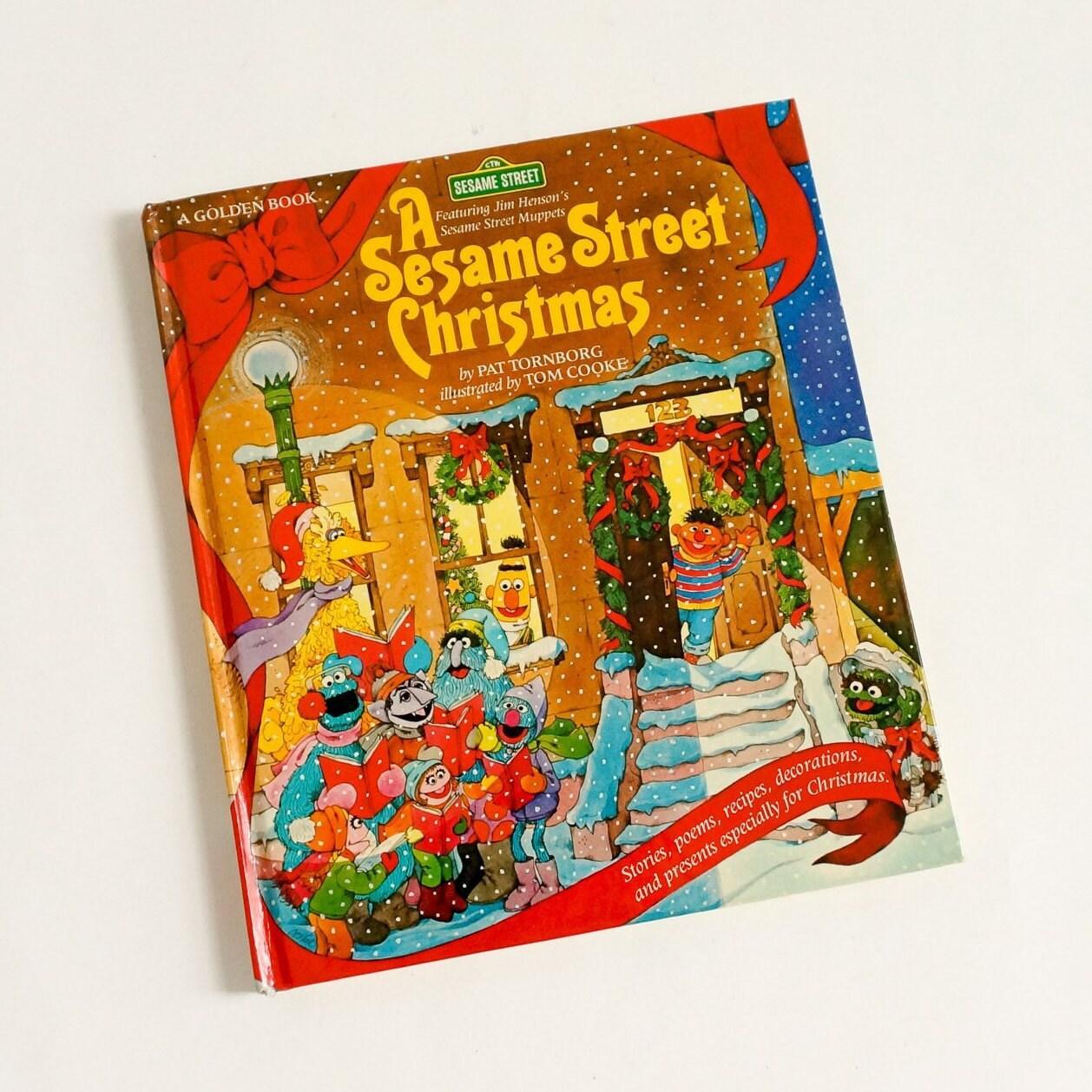 A Sesame Street Christmas by Pat Tornborg 1982 Hc Stories | Etsy