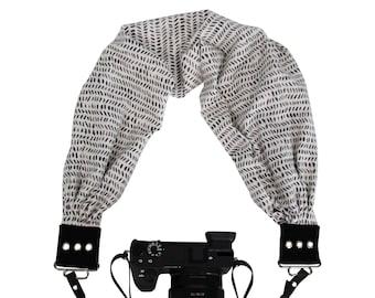 Kyla Pocket Scarf Camera Strap