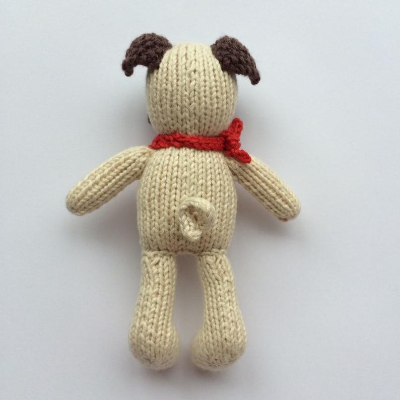 Petra's Pug toy knitting pattern | Etsy