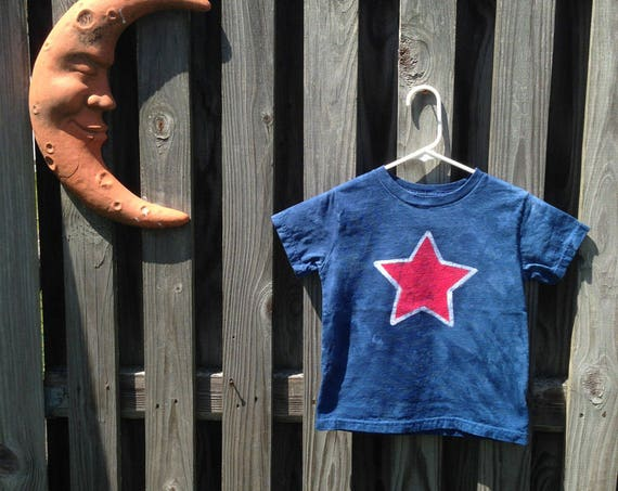 Patriotic Kids Shirt, Patriotic Boys Shirt, Patriotic Girls Shirt, Kids Star Shirt, Blue Star Shirt, Red Star Shirt, Fourth of July Shirt