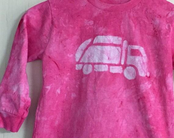 Pink Truck Shirt, Garbage Truck Shirt, Girls Truck Shirt, Boys Truck Shirt, Pink Boys Shirt, Pink Girls Shirt, Kids Truck Shirt (4/5)