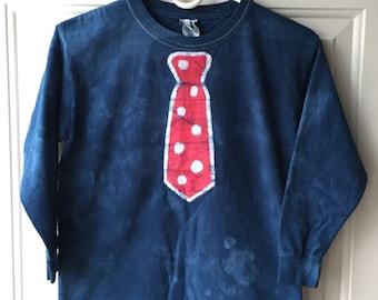 Blue Tie Kids Shirt, Kids Necktie Shirt, Boys Tie Shirt, Girls Tie Shirt, Funny Kids Shirt, Funny Boys Shirt, Patriotic Shirt (8)