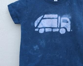Garbage Truck Shirt, Kids Truck Shirt, Boys Garbage Truck Shirt, Navy Blue Truck Shirt, Girls Truck Shirt, Boys Truck Shirt (3T)