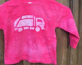Pink Truck Shirt, Garbage Truck Shirt, Girls Truck Shirt, Boys Truck Shirt, Pink Boys Shirt, Pink Girls Shirt, Kids Truck Shirt (3T)