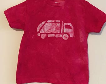 Garbage Truck Shirt, Kids Truck Shirt, Boys Garbage Truck Shirt, Red Truck Shirt, Girls Truck Shirt, Boys Truck Shirt, Truck Birthday (4T)