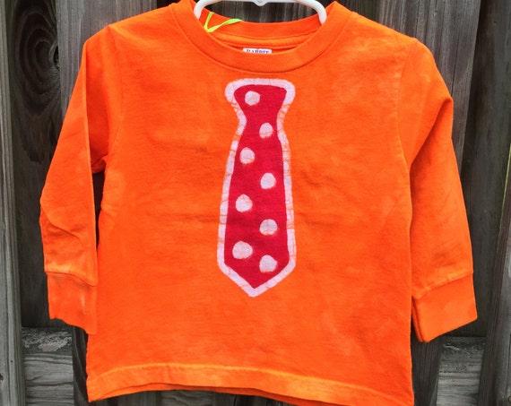 Kids Shirt with Tie, Kids Tie Shirt, Boys Tie Shirt, Girls Tie Shirt, Funny Kids Shirt, Kids Necktie Shirt, Tie Shirt, Back to School (2T)