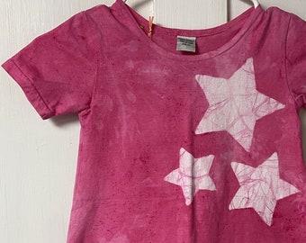 Girls Star Dress, Pink Star Dress, Pink Girls Dress, Girls Pink Dress, Star Girls Dress, Star Pink Dress, Celestial Girls Dress (4T)