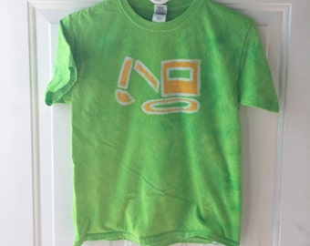 Kids Excavator Shirt, Kids Digger Shirt, Kids Truck Shirt, Boys Truck Shirt, Girls Truck Shirt, Green Construction Truck Shirt (Youth M)