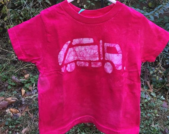 Pink Truck Shirt, Garbage Truck Shirt, Girls Truck Shirt, Boys Truck Shirt, Pink Boys Shirt, Pink Girls Shirt, Kids Truck Shirt (2T)