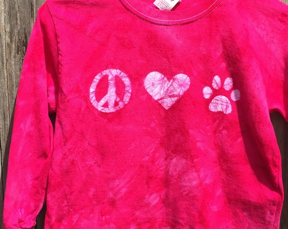 Animal Lovers Shirt, Paw Print Shirt, Cat Lovers Shirt, Dog Lovers Shirt, Kids Paw Print Shirt, Girls Dog Shirt, Girls Cat Shirt (6)