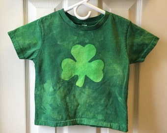 Kids Shamrock Shirt, St. Patrick's Day Shirt, Girls Shamrock Shirt, Boys Shamrock Shirt, Short Sleeve Shamrock Shirt (3T)