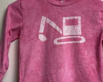 Kids Truck Shirt, Boys Truck Shirt, Girls Truck Shirt, Kids Excavator Shirt, Pink Truck Shirt, Kids Digger Shirt, Pink Kids Shirt (4/5)