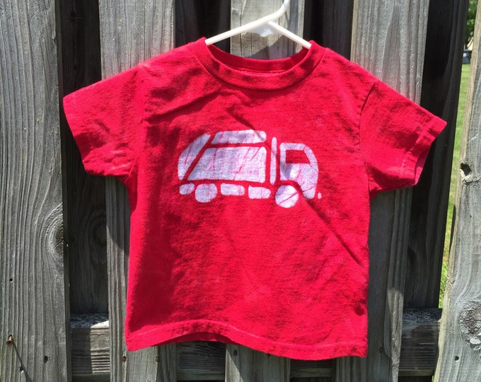 Featured listing image: Garbage Truck Shirt, Boys Garbage Truck Shirt, Girls Garbage Truck Shirt, Trash Truck Shirt, Recycling Truck Shirt, Kids Truck Shirt