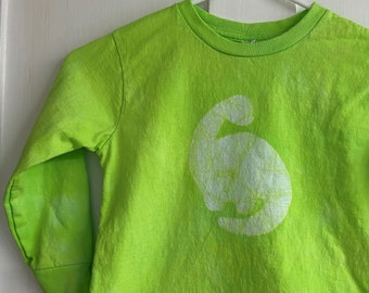 Green Dinosaur Shirt, Kids Dinosaur Shirt, Boys Dinosaur Shirt, Girls Dinosaur Shirt, Long Sleeve Dinosaur Shirt, Dinosaur Kids Shirt (4/5)