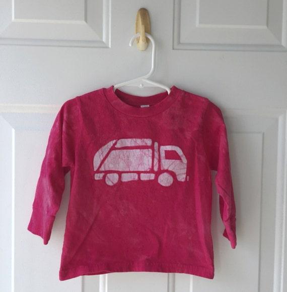 Garbage Truck Shirt, Red Truck Shirt, Kids Garbage Truck Shirt, Kids Truck Shirt, Boys Truck Shirt, Girls Truck Shirt, Long Sleeves (2T)