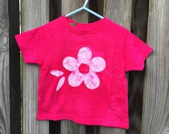 Flower Girl Shirt, Flower Girl Gift, Pink Flower Girl Shirt, Pink Flower Shirt, Girls Flower Shirt, Valentine's Day Shirt (2T)