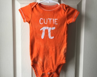 Cutie Pi Baby Bodysuit, Pi Day Baby Bodysuit, Pi Day Baby Shirt, Nerdy Baby Gift, Engineering Baby Gift, Math Baby Gift, Baby Shower Gift