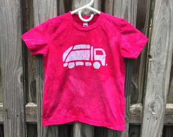 Pink Truck Shirt, Kids Truck Shirt, Girls Truck Shirt, Boys Truck Shirt, Garbage Truck Shirt, Pink Garbage Truck Shirt, Pink Boys Shirt (6)