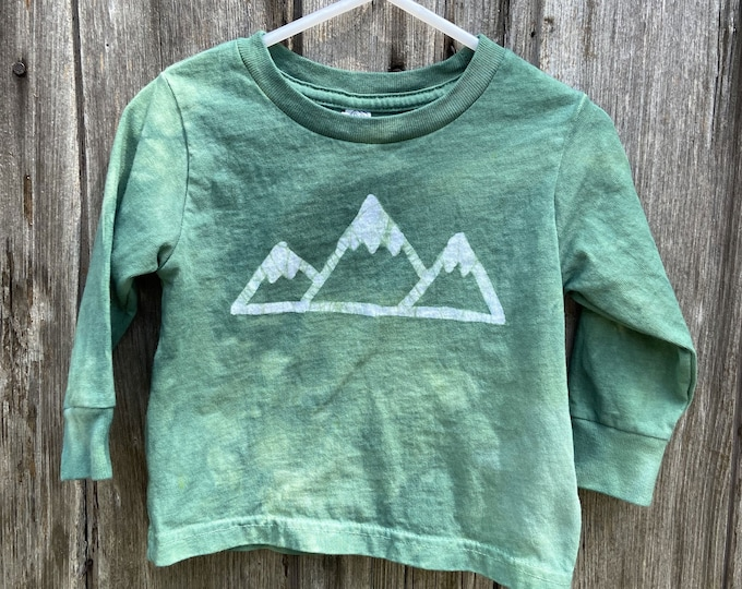 Featured listing image: Mountain T-Shirt, Kids Mountain Shirt, Boys Mountain Shirt, Girls Mountain Shirt, Kids Hiking Shirt, Mountain Lovers Shirt, Hiker Shirt