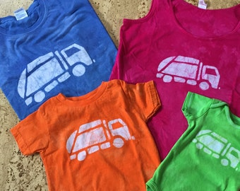 Daddy and Me Garbage Truck Shirts, Daddy and Me Outfits, Matching Dad and Child Shirts, Father's Day Gift, Matching Dad and Kid Shirts