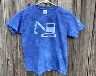 Construction Truck Shirt, Excavator Shirt, Digger Shirt, Boys Truck Shirt, Girls Truck Shirt, Kids Truck Shirt, Blue Truck Shirt (6)