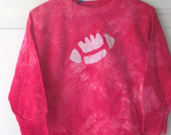 Kids Football Shirt, Red Football Shirt, Football Kids Shirt, Boys Football Shirt, Girls Football Shirt, Long Sleeve Kids Shirt (3T) SALE