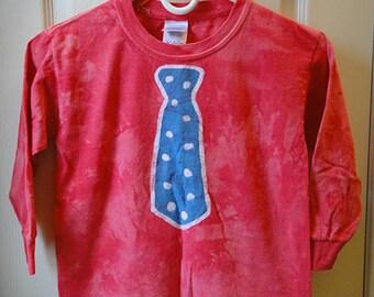 Kids Tie Shirt, Batik Tie Shirt, Childrens Tie Shirt, Boys Tie Shirt, Kids Necktie Shirt, Funny Kids Shirt, Back to School (6)