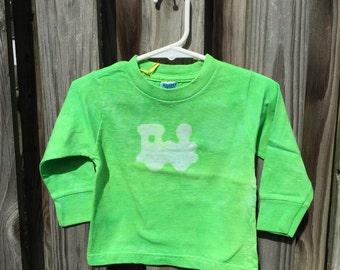 Toddler Train Shirt, Green Train Shirt, Kids Train Shirt, Boys Train Shirt, Girls Train Shirt, Toddler Boy, Toddler Girl (18 months) SALE