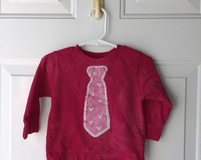 Featured listing image: Valentine's Day Shirt, Boys Valentine's Day Shirt, Girls Valentine's Day Shirt, Kids Shirt with Tie, Kids Valentines Shirt