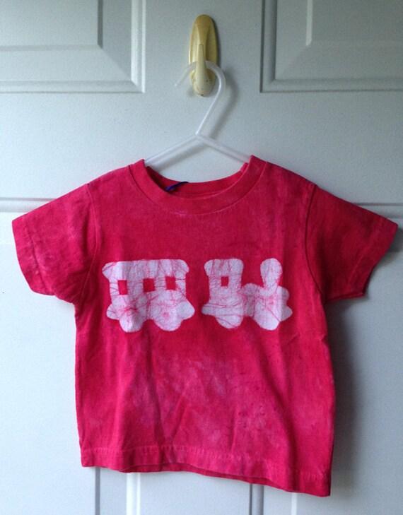 Kids Train Shirt, Red Train Shirt, Train Kids Shirt, Boys Train Shirt, Girls Train Shirt, Toddler Train Shirt (18 months)