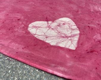Heart Dog Scarf, Ring Bearer Dog Scarf, Wedding Dog Bandana, Flower Dog Scarf, Wedding Dog Scarf, Valentine's Day Dog Scarf, Valentine Dog