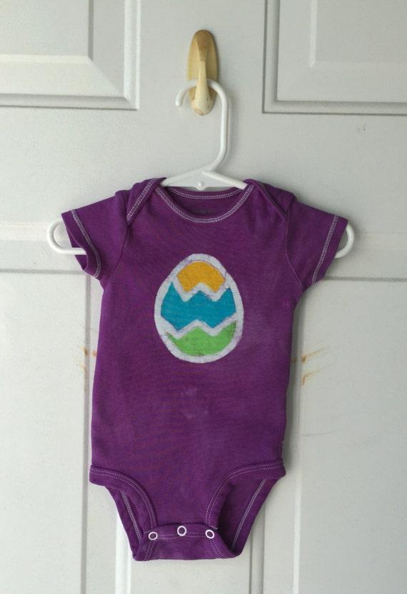 Easter Baby Bodysuit, Easter Egg Bodysuit, Easter Baby Shirt, Easter Baby Boy, Easter Baby Girl, Baby's First Easter (6 months)