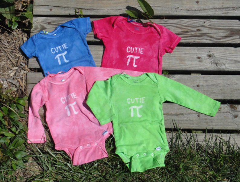 Pink Pi Day Baby Shirt 3 months Baby Girl Cutie Pi Cutie Pi Baby Bodysuit Hot Pink Cutie Pi Bodysuit Math Baby Gift Baby Girl Pi Day